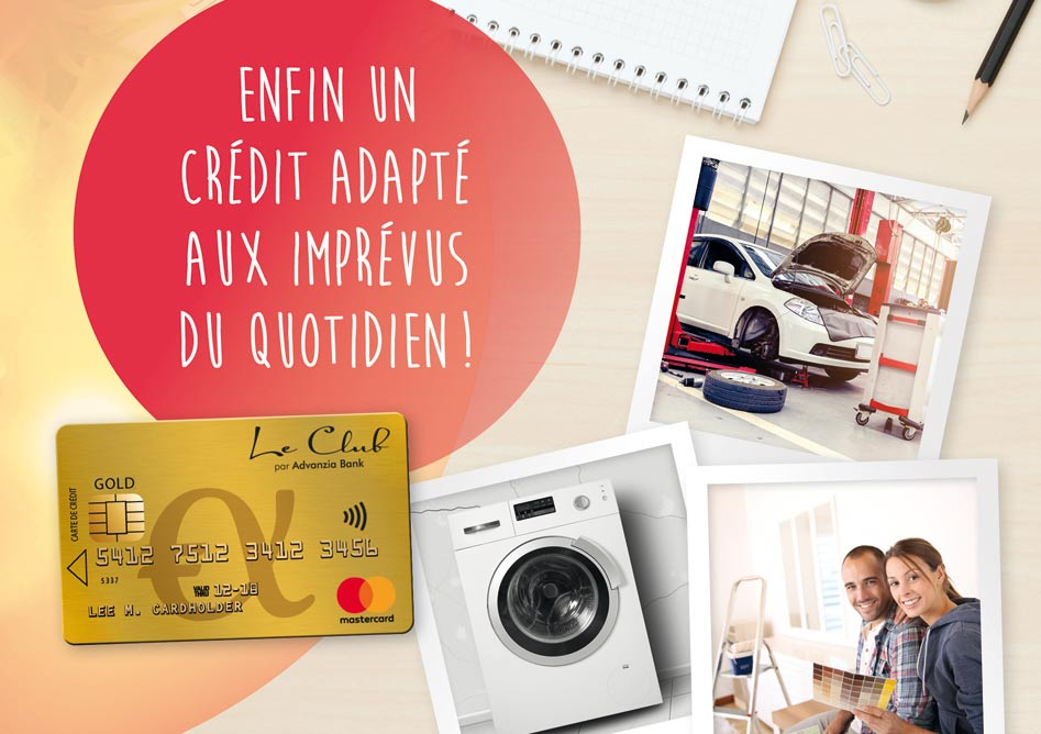 LA CARTE LE CLUB GOLD MASTERCARD